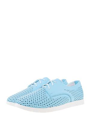Туфли голубые | 5490371