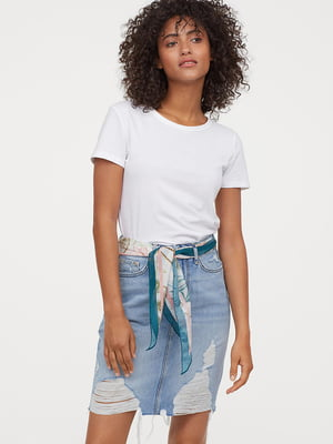 Спідниця джинсова блакитна   5490450