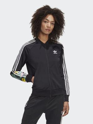 Олимпийка черная с логотипом   5490222