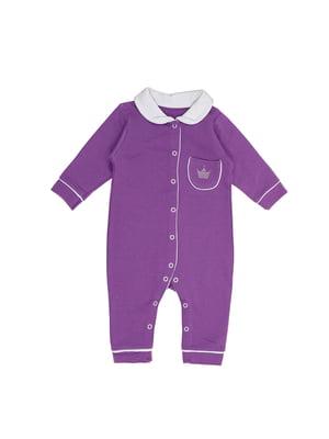 Чоловічок фіолетовий з малюнком   5490052
