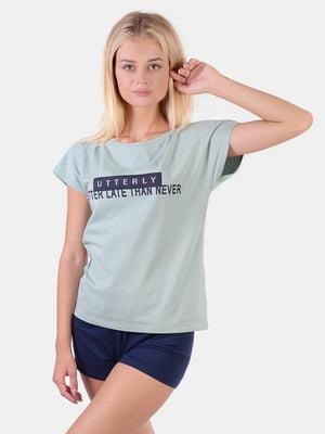 Комплект домашний: футболка и шорты | 5490570