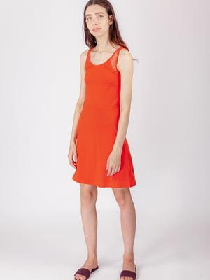 Платье оранжевое | 5490731