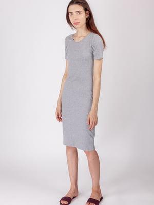 Платье серое | 5490735