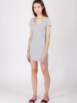 Платье серое | 5490759