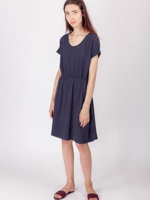Платье синее | 5490837