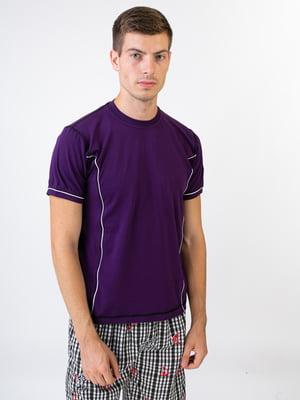 Футболка фіолетова | 5487291