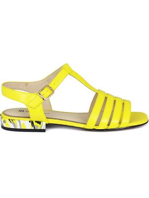 Сандалии желтые | 5465344