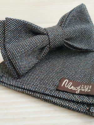 Набор: галстук-бабочка и платок «паше» | 5491059
