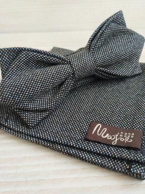 Набор: галстук-бабочка и платок «паше» | 5491060