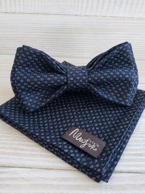Набор: галстук-бабочка и платок «паше» | 5491064