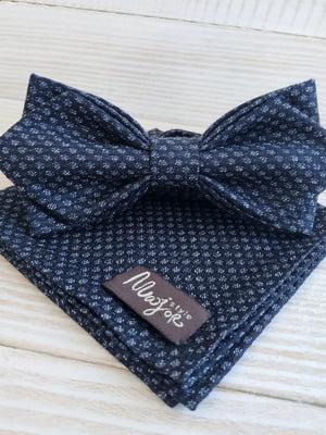 Набор: галстук-бабочка и платок «паше» | 5491065