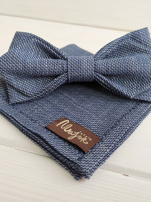 Набор: галстук-бабочка и платок «паше» | 5491097