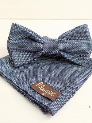 Набор: галстук-бабочка и платок «паше» | 5491098