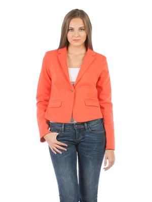 Жакет темно-оранжевый | 5377913