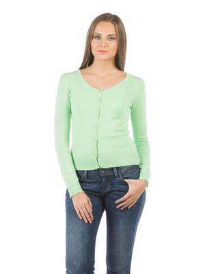 Кофта мятно-зеленая   5493544