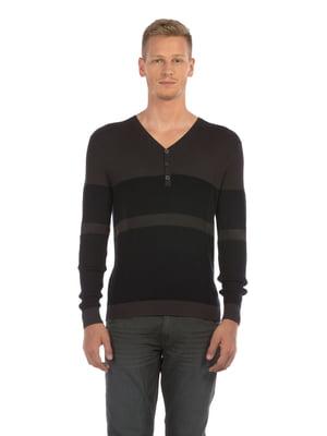 Пуловер двухцветный   5493567