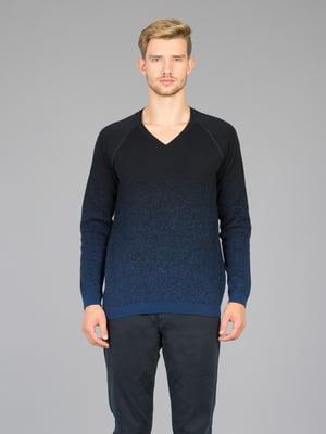 Пуловер синий   5493659