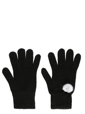 Рукавички чорні | 5493981