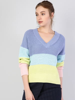 Пуловер трехцветный   5494066