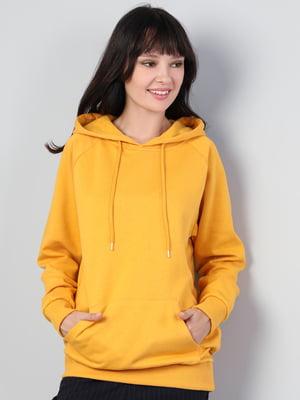 Худи желтая | 5494325