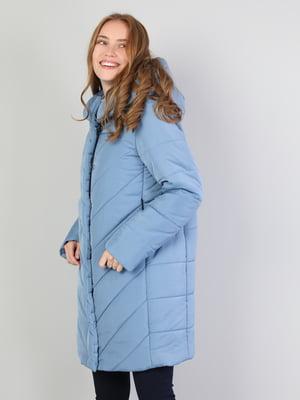 Пальто голубое | 5494336