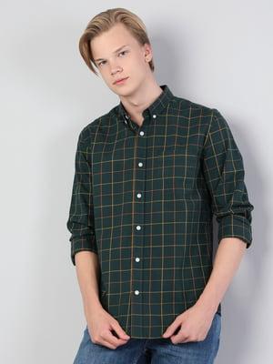 Рубашка клетчатая | 5494347