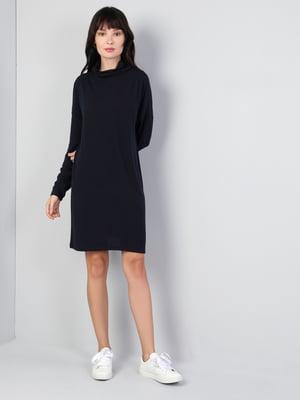Платье темно-синее | 5494438