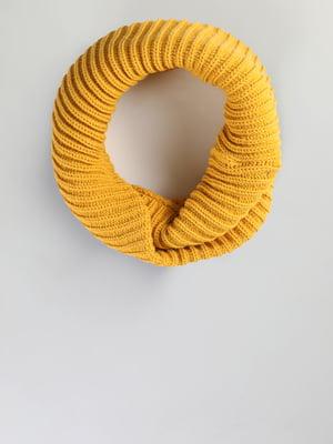 Шарф желтый | 5494530