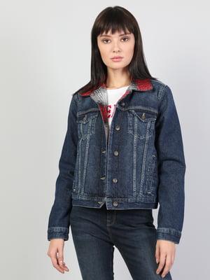 Куртка синя джинсова | 5494785