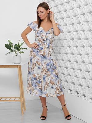 Платье в цветочный принт | 5491908