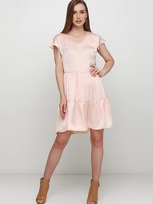 Сукня персикового кольору | 5495613