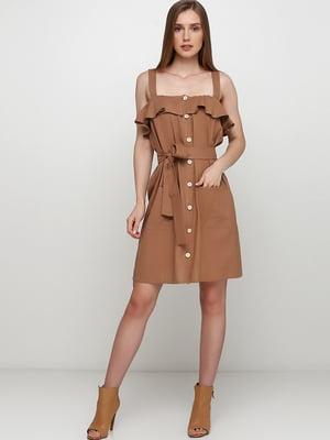 Платье бежевое | 5495617