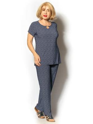 Костюм: блуза и брюки | 5496553