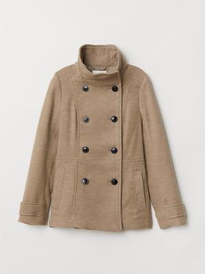 Пальто песочного цвета | 5496211