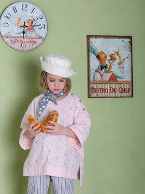 Блуза рожева з візерунком | 5496817