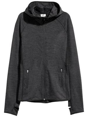 Куртка спортивна сіра | 5497272
