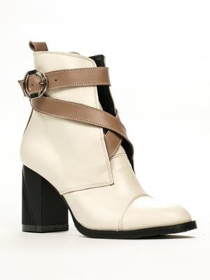 Ботинки молочно-кофейного цвета | 5489732