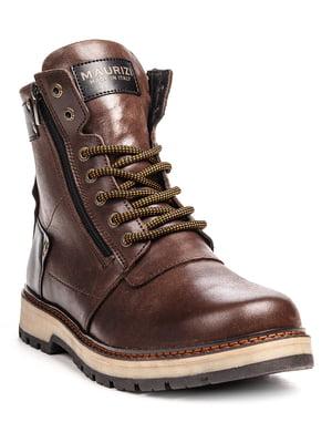 Ботинки коричнево-черные | 5489784