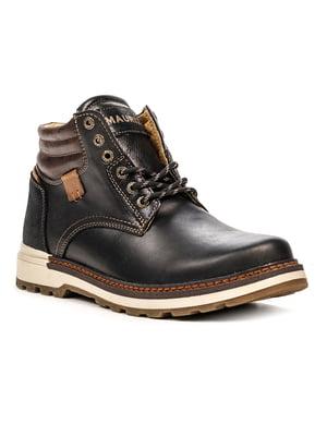 Ботинки черно-коричневые | 5489936