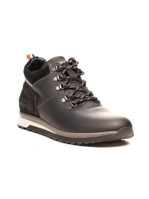 Ботинки черно-серые | 5489943