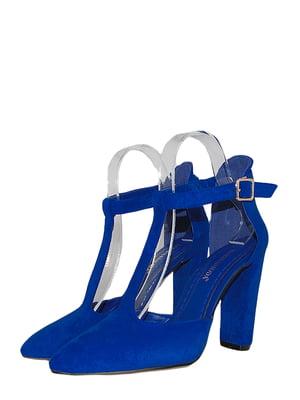 Туфли синего цвета | 5491888