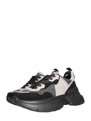 Кросівки чорно-кавового кольору | 5497391