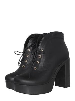 Ботинки черные | 5497445