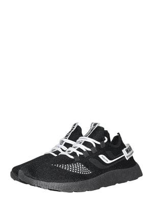 Кроссовки черно-белые | 5497489