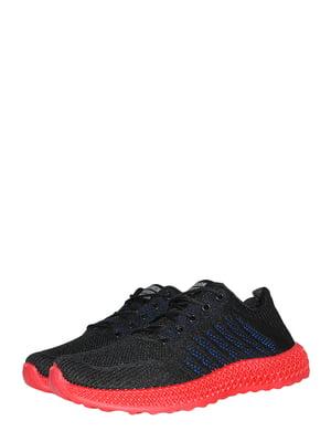 Кросівки чорно-сині | 5497493