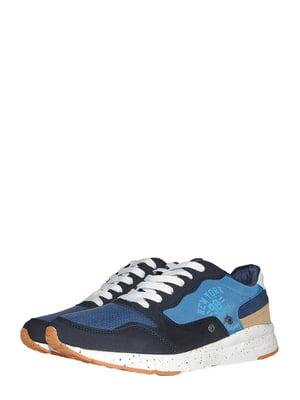 Кроссовки черно-синие | 5478081