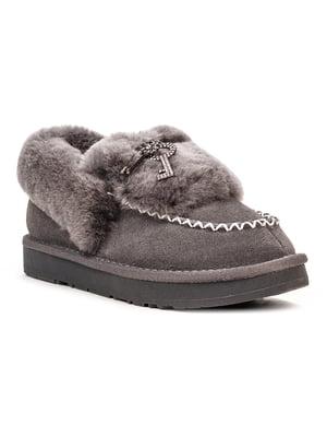 Ботинки серые | 5489494