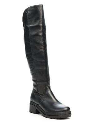 Сапоги черные | 5489635