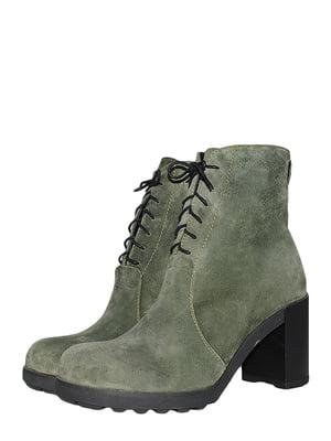 Ботинки зеленые   5497447