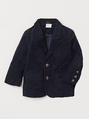 Пиджак темно-синий | 5496917